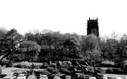 Rochdale, The Church And Packer Spout Gardens c.1965
