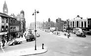 Rochdale, The Town Centre c.1955