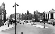Rochdale, Town Centre c.1955