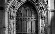 Rochester, Cathedral, the Chapter House Door 1894