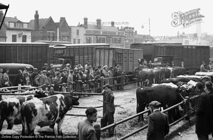Romford, Cattle Market c.1950