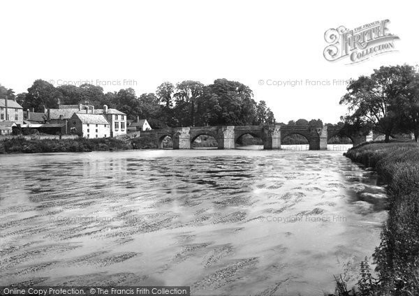 Ross On Wye, Wilton Bridge 1891