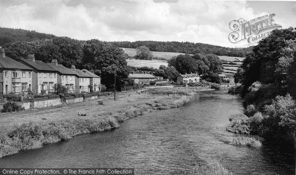 Rothbury, The River Coquet c.1960