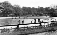 Rotherham, Clifton Park, Childrens Paddling Pool c.1955