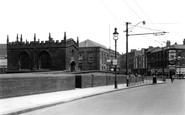 Rotherham, The Chantry On The Bridge c.1955