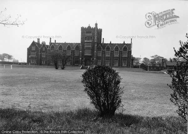 Rotherham, The Grammar School C.1955