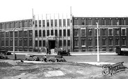 Rotherham, the Technical College c1955