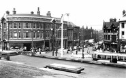 Rotherham, Town Centre c.1955