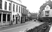 Rugeley, Lower Brook Street 1955