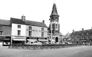 Rugeley, Market Place c1955