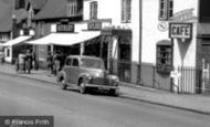 Rugeley, Parked Vauxhall Car c1951