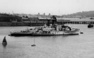 Saltash, A Ship On The Tamar c.1965