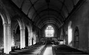 Saltash, Church Of St Nicholas And St Faith, Interior 1890