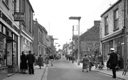Saltash, Fore Street 1952