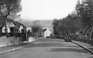 Saltash, Glebe Avenue c.1955
