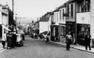 Saltash, Pedestrians In Fore Street 1952