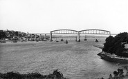 Saltash, Royal Albert Bridge 1890