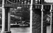 Saltash, Royal Albert Bridge, Detail 1890