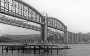 Saltash, The Bridges And Ferry c.1965