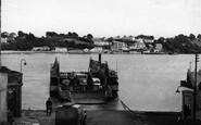 Saltash, The Ferry c.1955