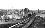 Saltash, The Royal Albert Bridge 1890