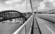 Saltash, The Tamar Bridge c.1965