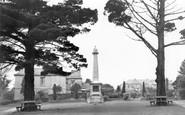 Saltash, The Victoria Gardens c.1955