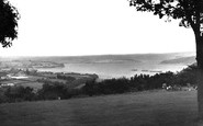 Saltash, View From The Park c.1955