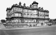Saltburn-By-The-Sea, the Zetland Hotel c1955