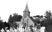 Sanderstead, All Saints Church c.1955