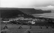 Sandsend, Harvest Field And Kettleness Point 1925