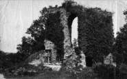 Sandsend, Mulgrave Castle c.1882