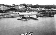 Saundersfoot, the Harbour 1933