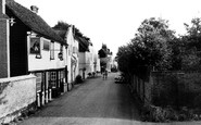Sawbridgeworth, King William IV, Vantorts Road c1960