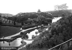 Scarborough, Peasholm Park c1955