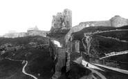 Scarborough, The Castle 1897