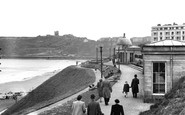 Scarborough, The Castle And North Bay c.1950