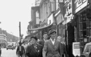 Scunthorpe, High Street 1957