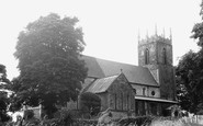 Scunthorpe, the Church c1955