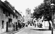 Seaford, Church Street 1900