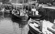 Seahouses, the Harbour & Fishing Fleet c1965