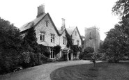 Selborne, Church and Vicarage 1898