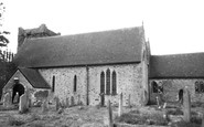 Photo of Selborne, St Mary's Church c1955