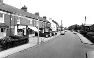 Selby, Flaxley Road, the Post Office c1965