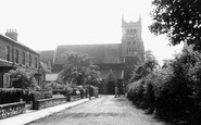 Selby, St James' Church c1960