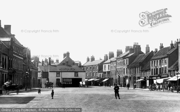 Selby Wide Street 1901 Francis Frith