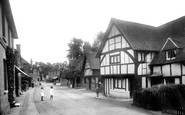 Shere, Middle Street 1924
