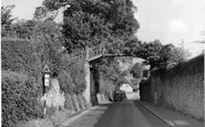 Shere, The Bridge, Upper Street c.1950