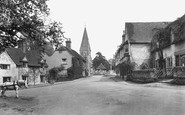 Shere, The Village 1921