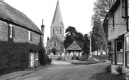 Shere, The Village And St James Church c.1955